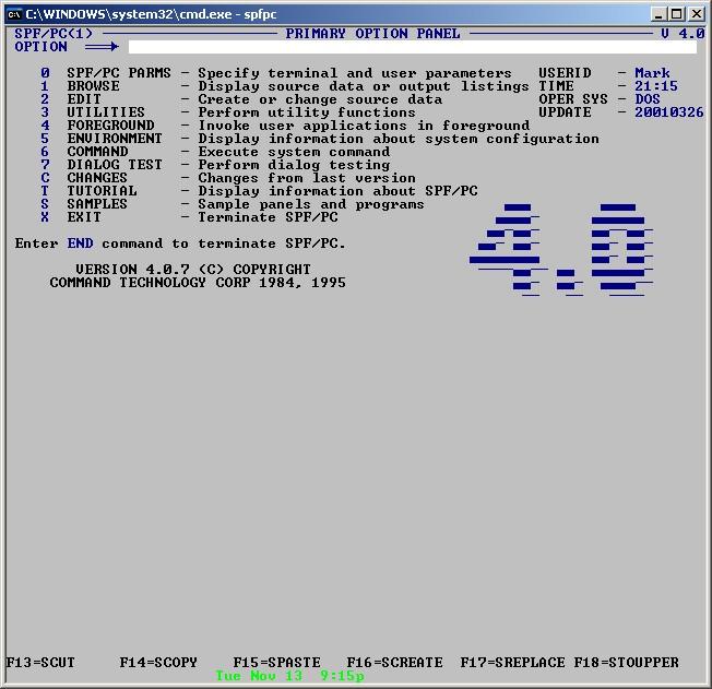 Texteditors wiki: spf/pc.